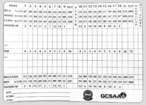 Los Lagos Golf Club Scorecard
