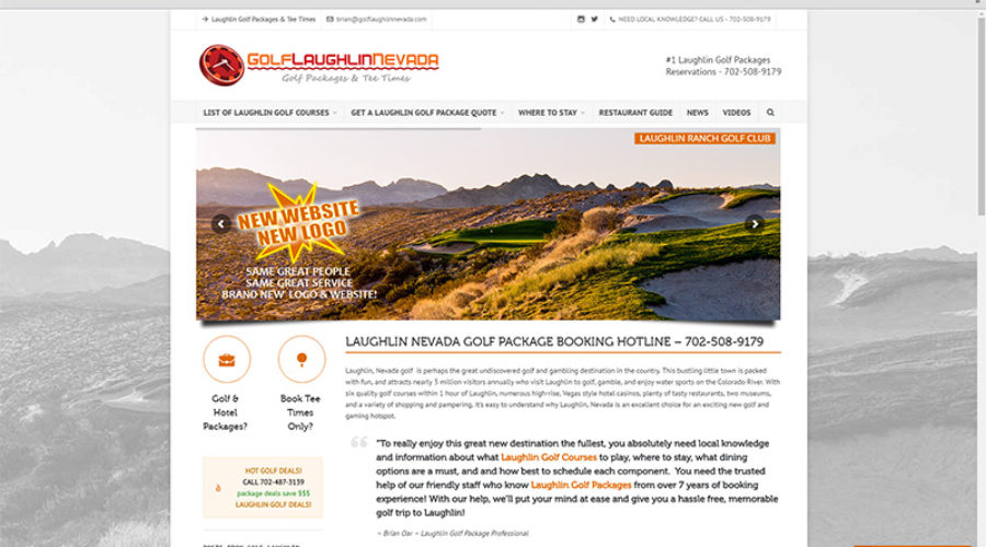New GofLaughlinNevada.com Website Has Launched!