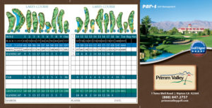 Primm Valley Lakes Scorecard