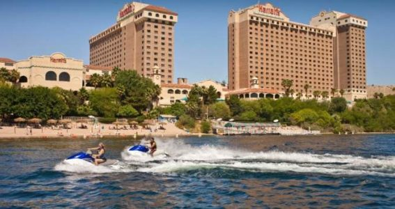 Harrah's Laughlin - Beach & Jet Skis
