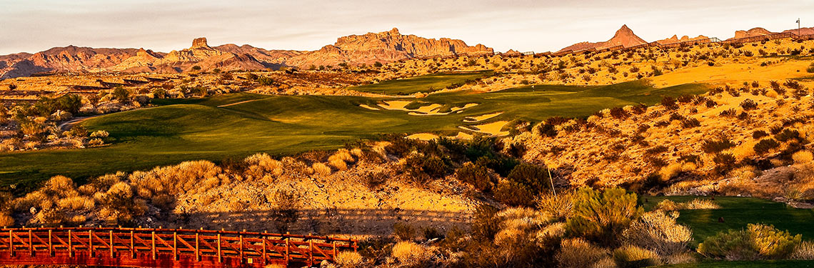 Mojave Resort Golf Club #7 - Photo By Brian Oar - All Rights Reserved 2016