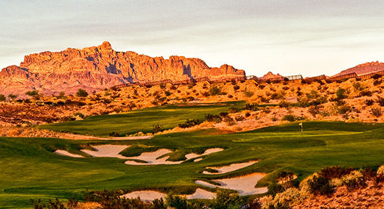 Laughlin Ranch Golf Club #7 - Photo By Brian Oar - All Rights Reserved 2016