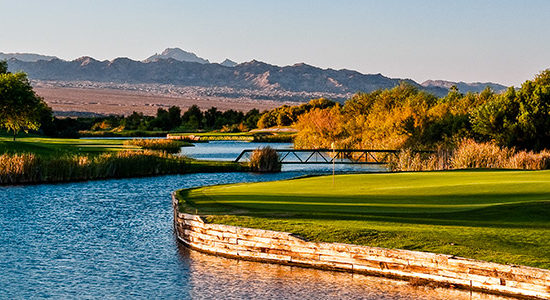 Mojave Resort Golf Club #17 - Photo By Brian Oar - All Rights Reserved 2016