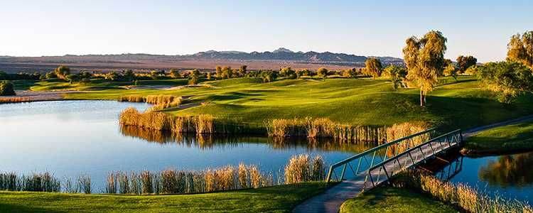 Mojave Resort Golf Club #16 - Photo By Brian Oar - All Rights Reserved 2016
