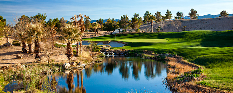 Primm Valley Desert Golf Club #9- Photo By Brian Oar - All Rights Reserved 2016