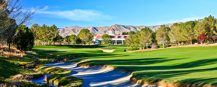Primm Valley Lakes Golf Club #18 - Photo By Brian Oar - All Rights Reserved 2016